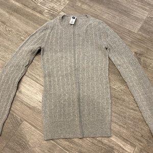 GAP basic sweater - Light gray